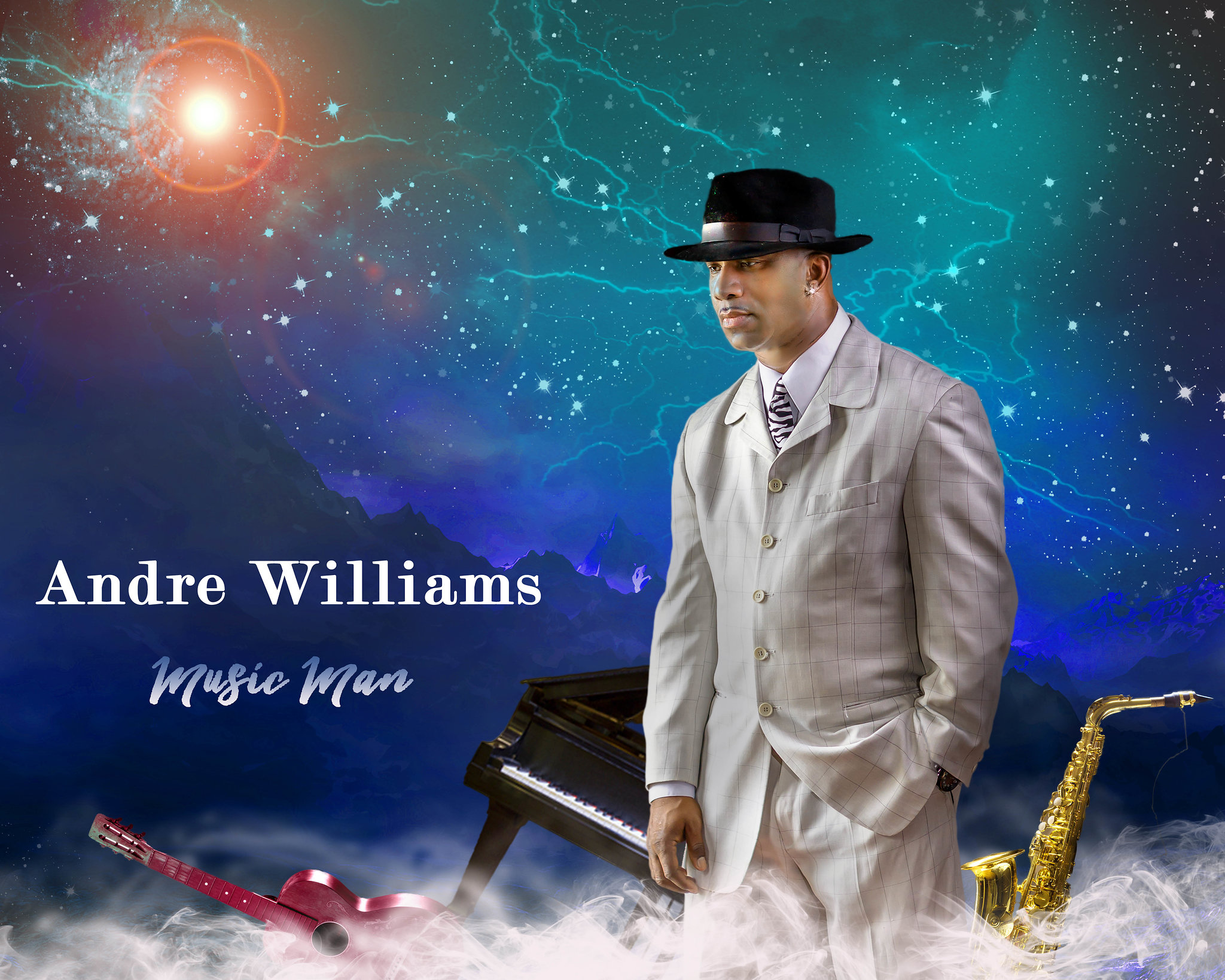Andre Williams Music Man